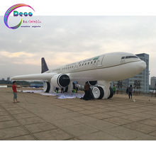 inflatable aircraft outdoor show inflatable air plane model, inflatable advertising aircraft