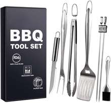 Heavy Duty BBQ Grilling Tool Sets