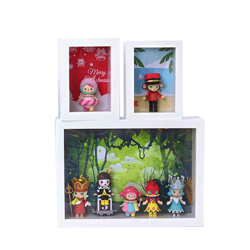 GTFRAME Wholesale Memory Display Black Art Photo A3 9x9 8x8 8x10 Picture Deep Wooden Shadow Box Frames 3d With Glass