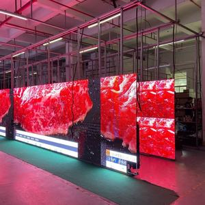 Square Stage Rental Show Background Video led mobile screen display p4.81 indoor curtain displays for concert infield use
