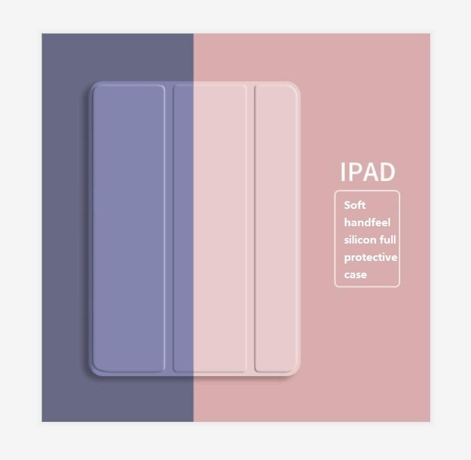 Soft TPU Tablet Caseため2019 iPad 10.2 For iPad 7th Generation Smart Cover Case iPad 8th 2020