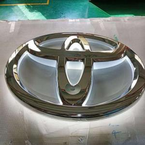 3D Backlit Vacuum Blister Acrylic Auto Advertise Symbol Chrome Car Logo with Led Lights