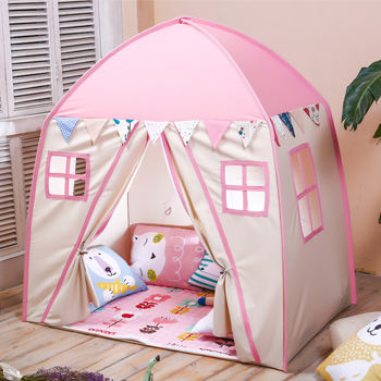 Lovetree cotton canvas playhouse tent toys playhouse princess castle