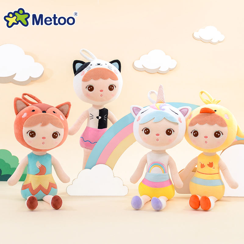 High Quality Plush Stuffed Metoo Smart Jibao Doll Gift Toy with CE certification
