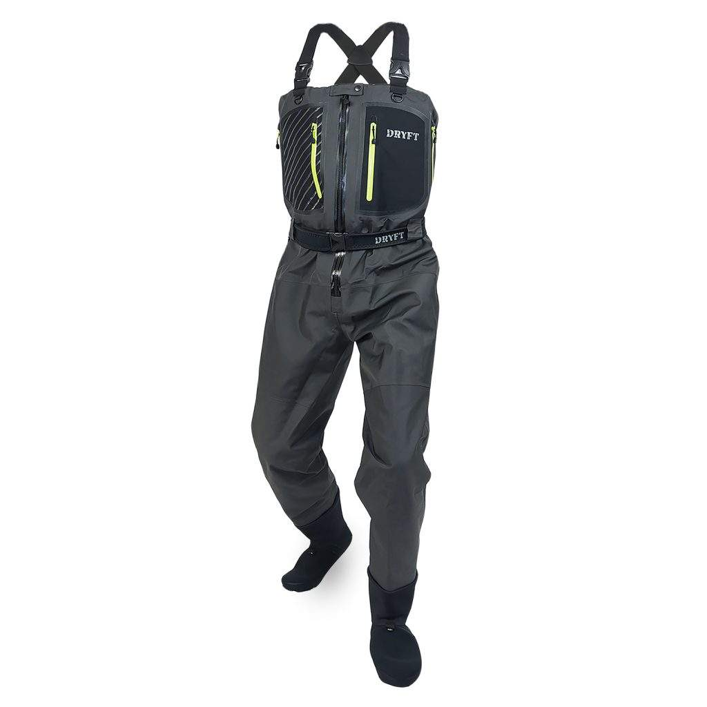 10# Chest Wader Zippers Waterproof and Airtight Zipper Heavy Duty HF Weldable Resin Zip for Hunting Fishing Wader