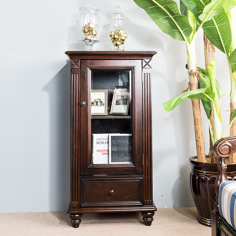 Vintage Solid Wooden furniture Antique Style living room Cabinet