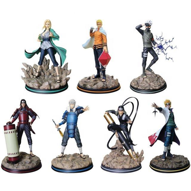 Wholesale Custom 3D Mold PVC Toys Figures Action Anime Naruto Action Figure One Piece