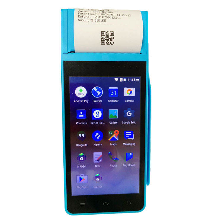 Android Touch Screen Mobile Handheld Pos Terminal