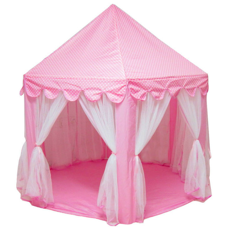Game house castle children's pop up play tent for children