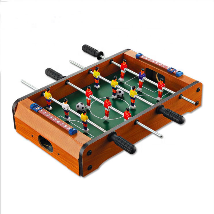 New wooden table soccer toy Kids Indoor Wooden Mini hand Table Football sport Toy Soccer Tables