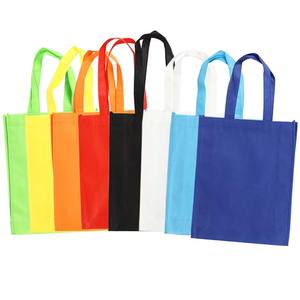Wholesale Tote bag grocery shopping bag non woven fabric bags reusable