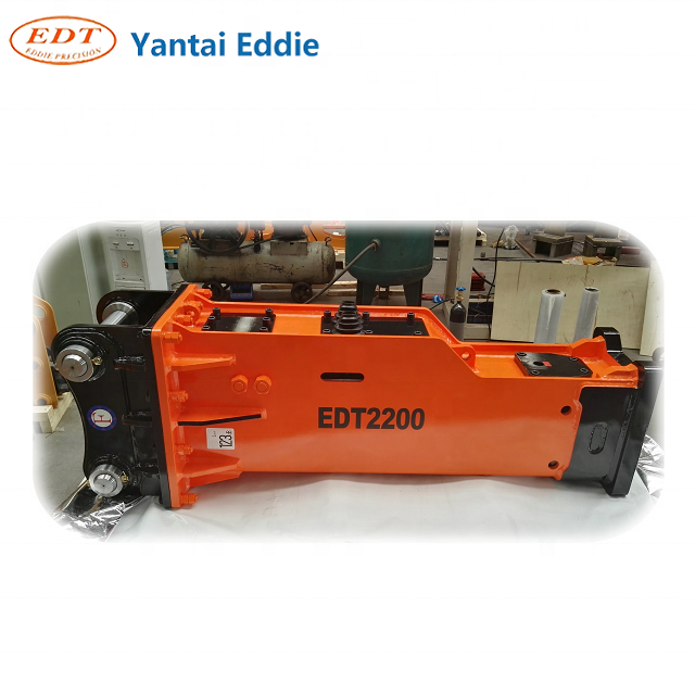 Other construction machinery Yantai EDT hydraulic breaker sales for excavators hydraulic hammer