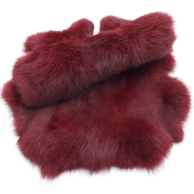 Factory wholesale high quality rabbit fur pelts tanned rabbit fur skins