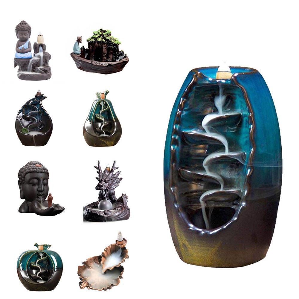 Muestra gratis chino lámpara de aceite con la cubierta de vidrio de barro lámparas de aceite quemador de incienso