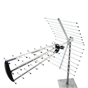 UHF outdoor HDTV antenna for wide frequency range