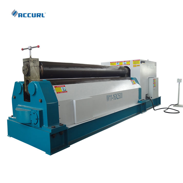Hydraulic Plate Bending Machine Price Small Plate Bending Rolling Machine Hydraulic Cnc Stainless Steel Rollers Bending Machine