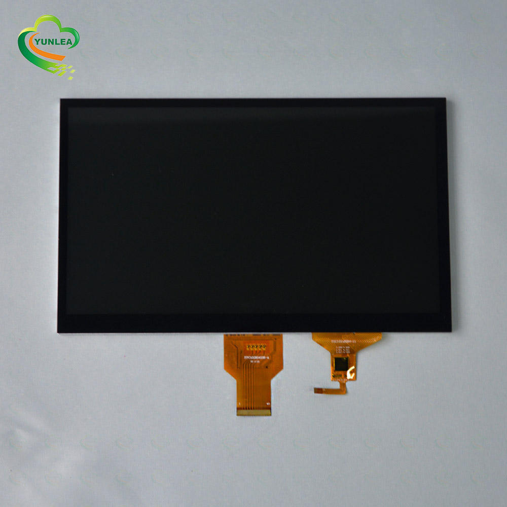 Yunlea touch screen 1024x600 10 inch TFT LCD display with LVDS interface for medical device