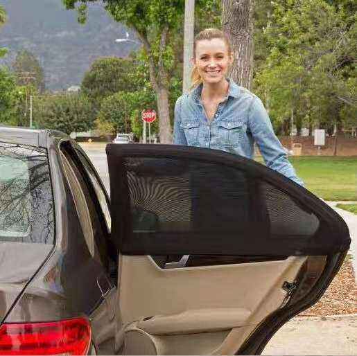 The new car sunshade for sunscreen, sunshade curtain and mesh bag manufacturers direct sales