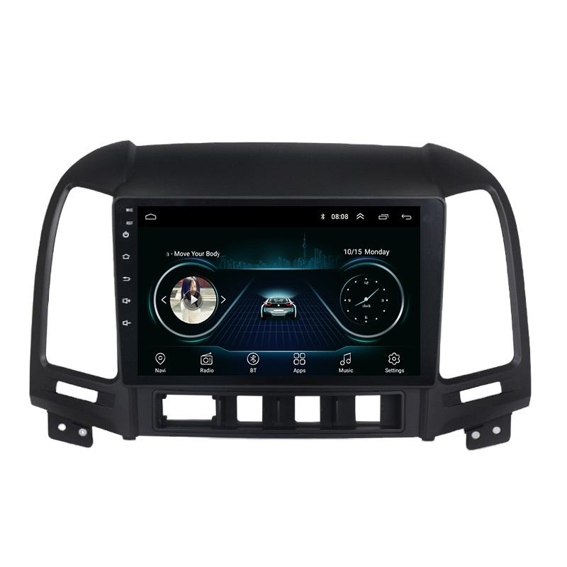Cheapest Touch Screen Video WiFi Android Car Radio GPS IPS For Hyundai Santa Fe 2006 2007 2008 2009-<span class=keywords><strong>2012</strong></span>