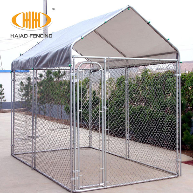 Used chain link Dog cage and kennel panels usa
