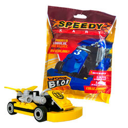 Racing car bricks to build with instruction -  Construction Toy building blocks