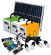 China Factory Hot selling 10W 20W 30W mini solar power lighting system portable DC solar kits for home