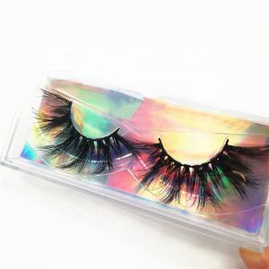 Premium Plastic Eyelash Trays Wholesale Custom logo Eyelashes Packaging Box