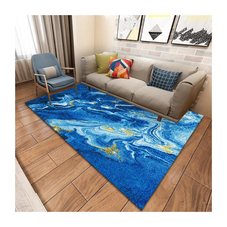 Washable Carpet Tile New Design Marine Carpet Living Room Carpet Children Play Mat
