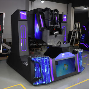 Movie 9d Vr Cinema Factory 9d Vr Cinema Supplier Virtual Reality Simulator Movie Theater For Vr Attraction Park
