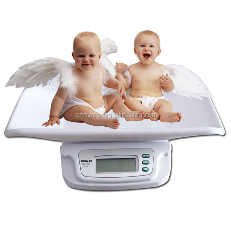 Mother and baby scale for baby health