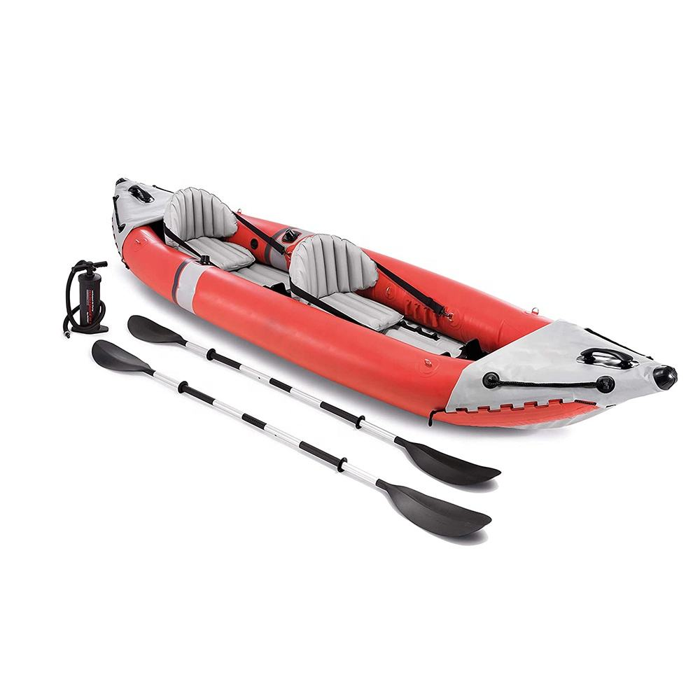 2-Person Inflatable Rafting Boat Inflatable Kayak Inflatable Boat For Fishing,Rafting,Traveling, Parent-child Activities