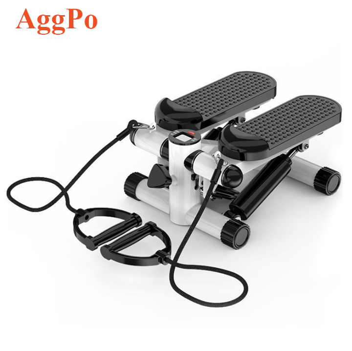 Casa Per Il Fitness <span class=keywords><strong>Mini</strong></span> <span class=keywords><strong>Stepper</strong></span> con Bande di Resistenza Display LCD, Regolabile Portatile di Torsione <span class=keywords><strong>Scala</strong></span> <span class=keywords><strong>Stepper</strong></span>, Esercizio di Fitness Macchina