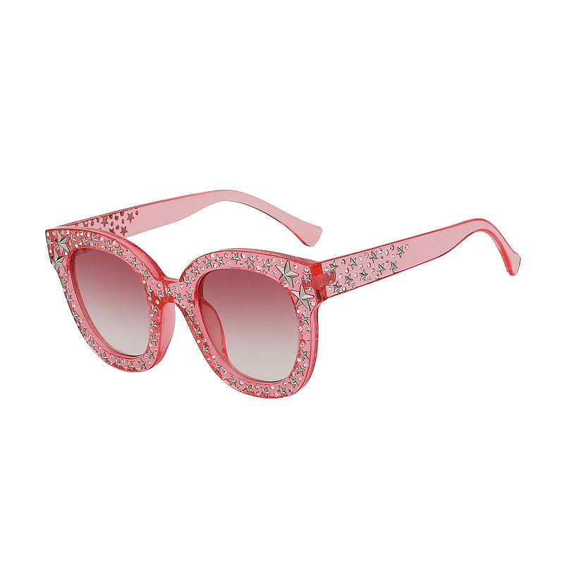 2019 Fashion hot Star Eyewear Women Sun glasses Brand Designer Female Shades Diamond Sunglasses