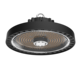 ETL cETL listed 160lm/w industrial hanging lamp 200 watts led high bay light ufo popular in European and American market