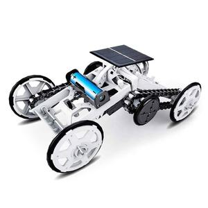 Educational Learning Engineering Mechanical Assembly Diy 4Wd Climber Solar Science Kit STEM Toys For Kids