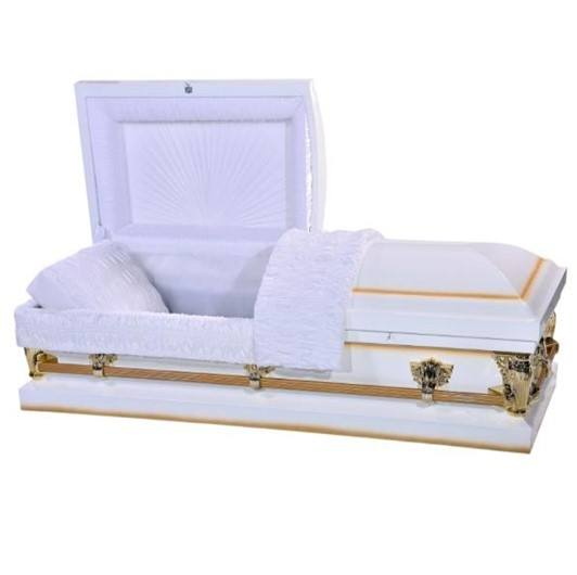 Casket interior decoration and lining