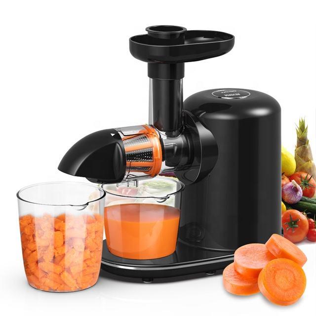 barato de alta calidad doble equipo Jugo puro filtro combinado fácil de limpiar, velocidad lenta la fruta exprimidor