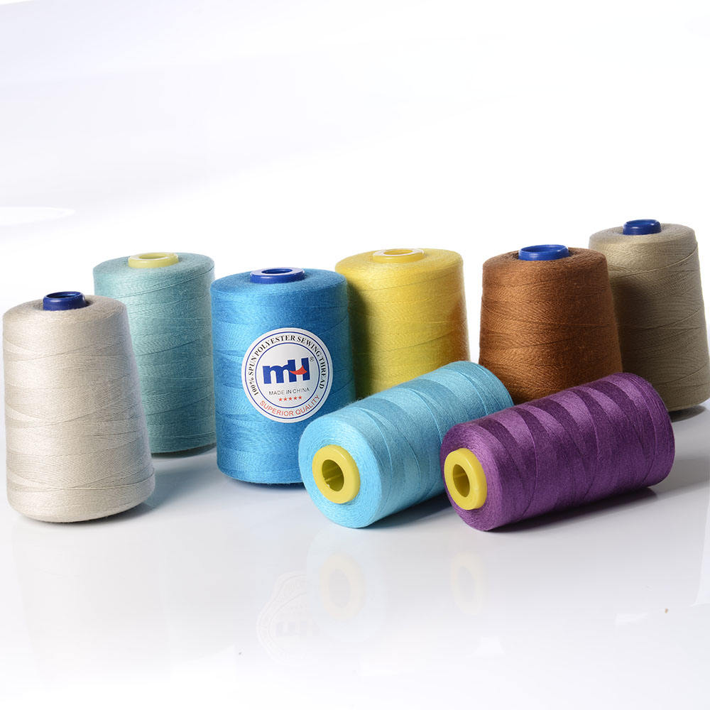 Wholesale 40/2 5000yds 100% Polyester Sewing Thread For Sewing Machines