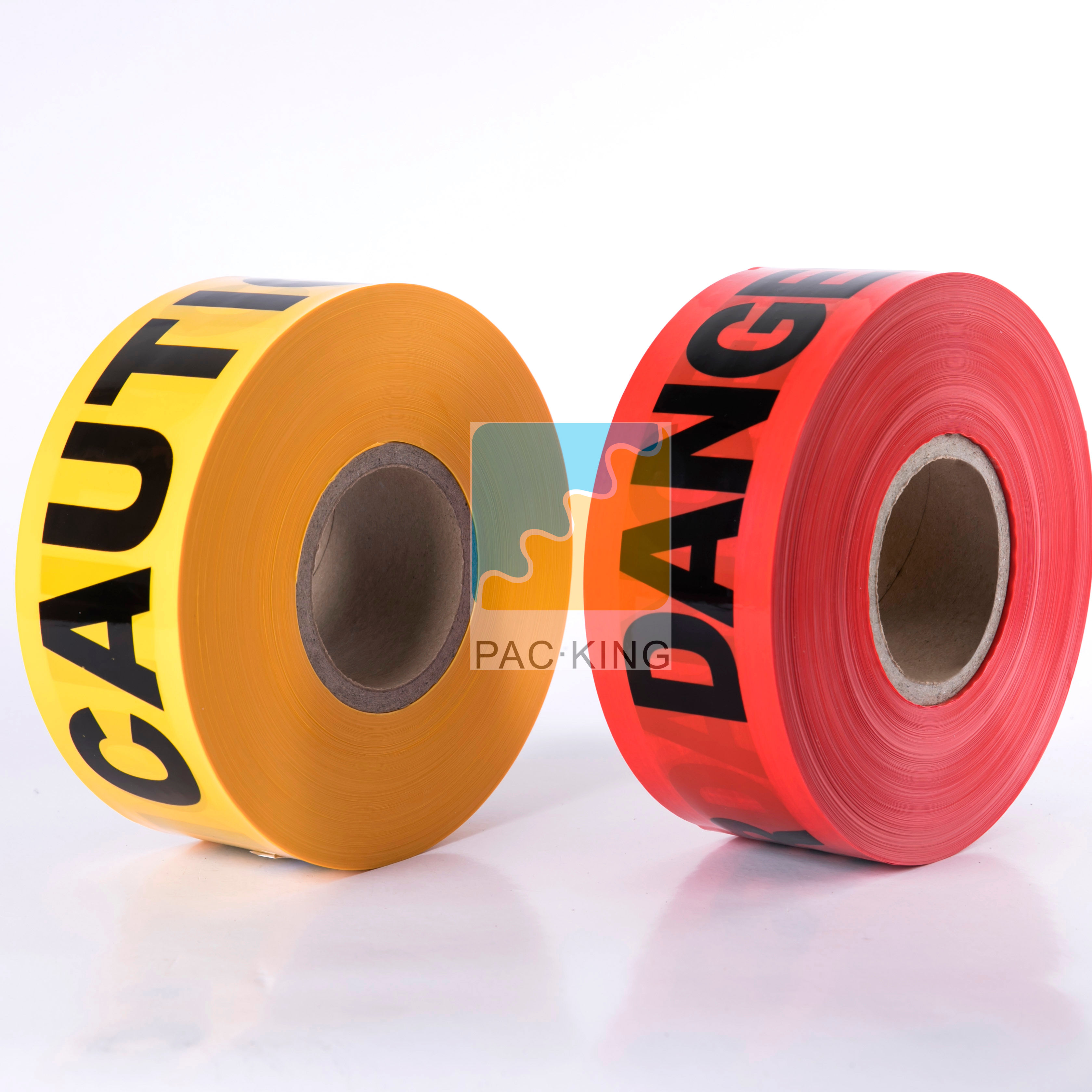 High Quality Retro Reflective PE Warning Custom Barricade Caution Barrier Tape