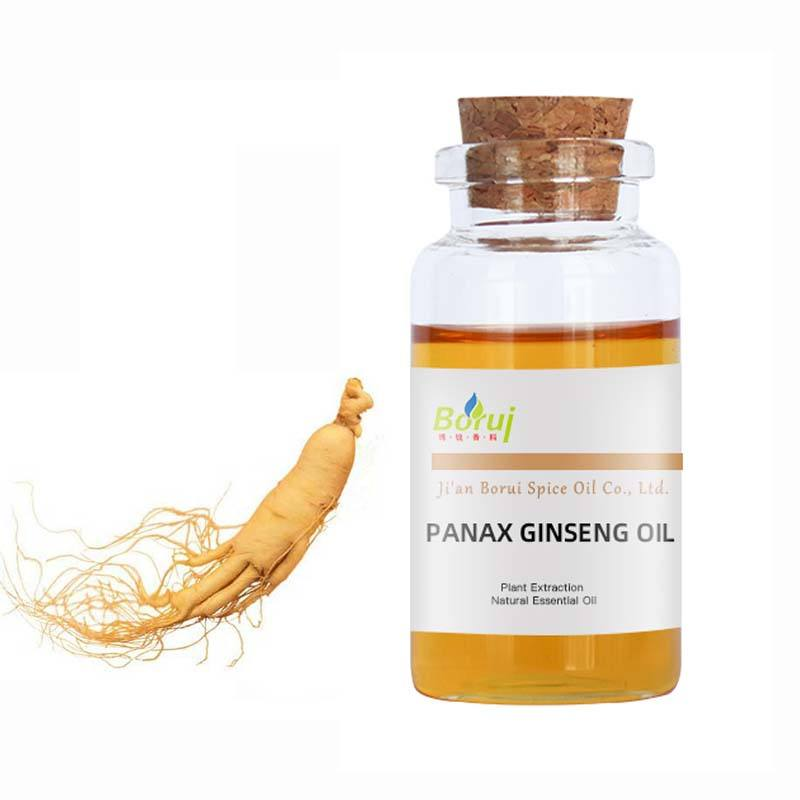 OEM 100% Pure Natural Chinese Herbal Panax Ginseng Essential Oil For Hair Care and Massage
