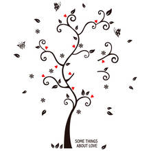 New Big Size memory photo tree wall sticker home decor background wall decoration decal foreign trade custom wall decal