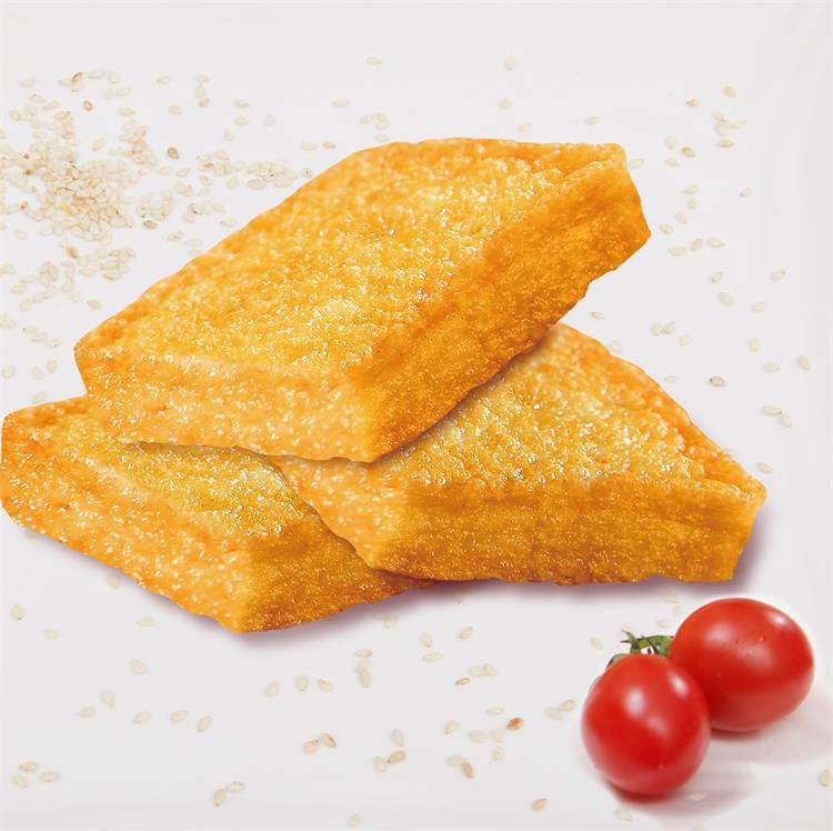 Factory price Crispy Fish Piece surimi frozen food for hotpot