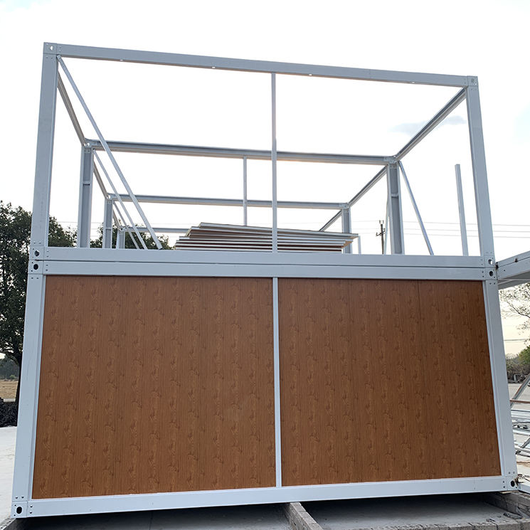 Prefabricated High Quality Easy Construction Demountable Assembled Building Container House