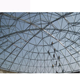new design Prefab Large Span Steel Structure dome roof Trusses system