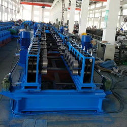 Grooved cable bridge equipment forming production line
