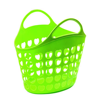 china manufacturer wholesale plastic soft flexible shopping picnic kitchen items baskets toy storage basket with holes