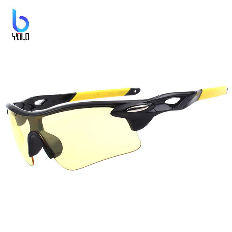 100% UV400 Men Cycling Glasses Outdoor Sport MTB Sunglasses Bike Bicycle Fishing Driving Eyewear