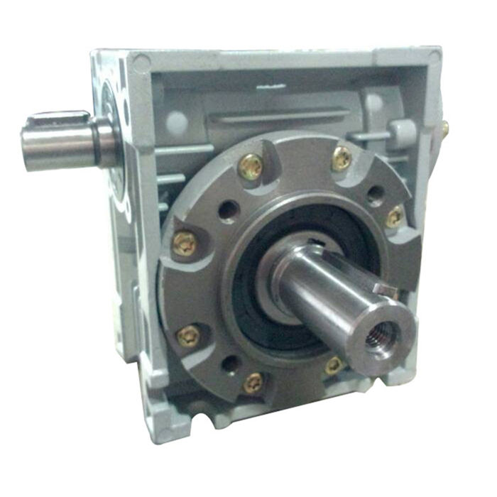 NMRV worm gear reducer mechanical speed variator hollow shaft geared motor marine transmission screw jack ratio gearbox