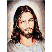 Wholesale Full Drill DIY 5D Diamond Painting Religious Leader Jesus Portrait 2020 New Mosaic Diamond Embroidery Home Decoration