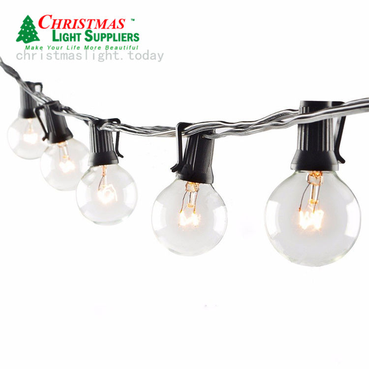 100bulbs Edison Festoon Cafe Outdoor Commercial Party Decoration Waterproof G40 Patio String Light